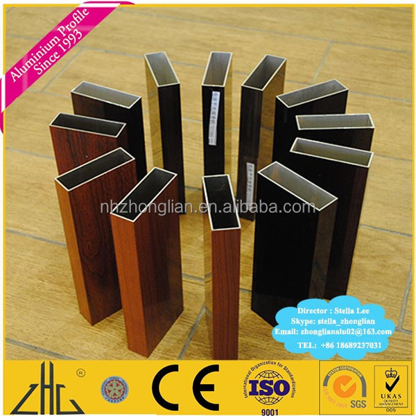 wow aluminium extrusion holzdekor rohr manfacturer foshan. Black Bedroom Furniture Sets. Home Design Ideas