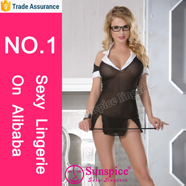 Hottest selling queen size sexy pure school girl costume