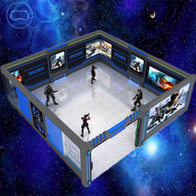 Ready palayer one Multiplayer interactive VR game simulator VR Large Space (open air VR)... with backpacks, wireless