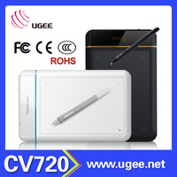 8x5 inch Ugee CV720 2048 levels graphics tablet digitizer replacement