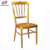 popular nice quality matel wedding castle Napoleon chair