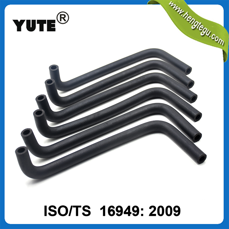 YUTE brand car engine coolant using EPDM formed 7/8 id rubber hose