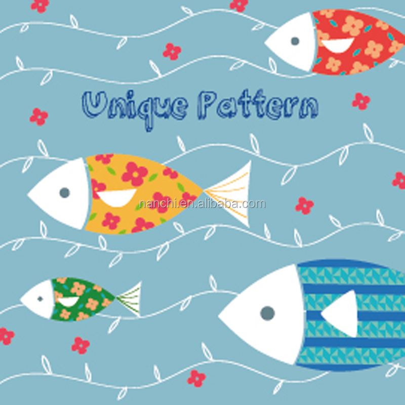 Unique pattern cartoon fish small switch stickers decorative door paper decoration Kids Rooms bedroom sofa stairs switch paper