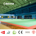 Enlio PVC Badminton flooring mat with BWF certificate