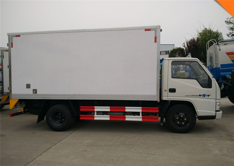 Plastic fridge van box truck body dry cargo van truck