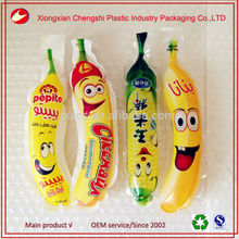 new design custom gourd shaped plastic kids juice pouch
