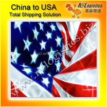 sea/air shipping from China to Chicago USA