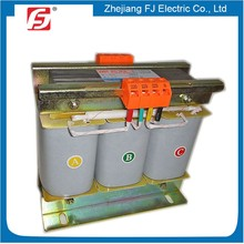 IEC isolation Copper Winding 3 phase step up transformer 240v to 415v