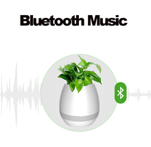 Wholesale Led High Quality Big Outdoor Plastic Ceramic Flower Pot 12000Mah Music Control