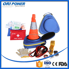 OP manufacture FDA CE ISO approved EVA portable repair outdoor emergency car tool kit