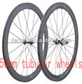 super light 700C full carbon tubular wheels&3k carbon wheelset& carbon tubular rims