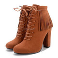 2017 winter fashion women ankle boots suede high quality boots PF4425