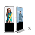 "50"" inch Alone standing HD LCD advertising TV with Android OS"