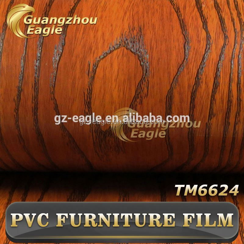 Pvc Wood Grain Self Adhesive Vinyl Film For Furniture,Pvc Self Adhesive Foil As Contact Paper ,Decorative Film For Furniture