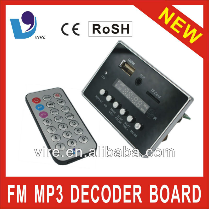 audio module support USB SD MP3 for home theater