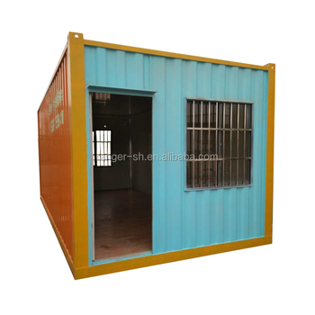 Cheap Made-in-china portable packing container house DIY prefab  house