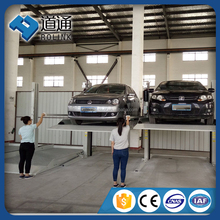 outdoor 2 level mechanical car lift parking system