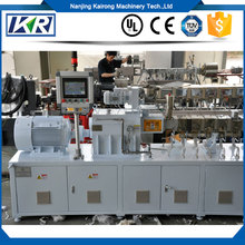 Conical Twin Screw Plastic Extruder/ Parallel Counter Rotating Twin Screw Extruder/ Plastic Machines Price