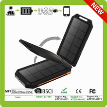 emergency solar power bank charger for smartphone.camera.pc fan and other digital gadgets