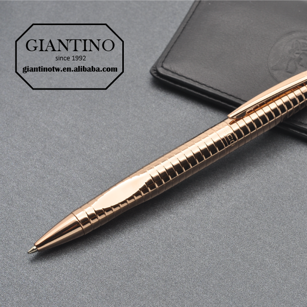 Good Looking Rose Gold Business Ballpoint Pens