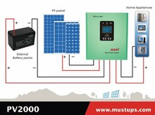 pv2000 Series power star inversor with controller intelligent power inverter controller 1200va solar inverter