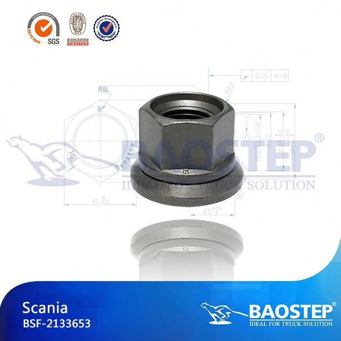 BAOSTEP Full Thread Tuv Certified Truck Wheel Nut Cover