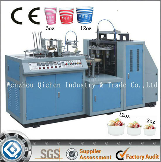 JBZ-A12 full automatic paper cup machinery and free accessories