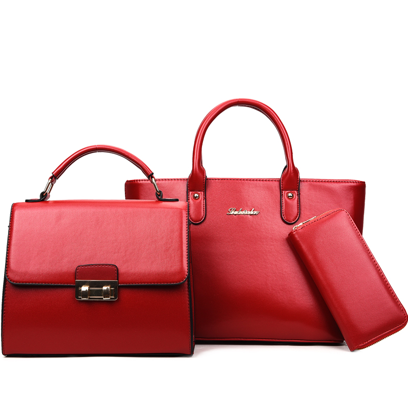 New design and production custom leather women handbags <strong>totes</strong>