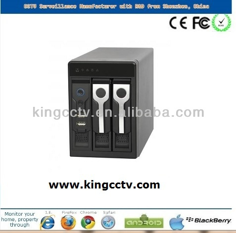 hot selling 8 channel embedded network digital video recorder NVR3208V-P