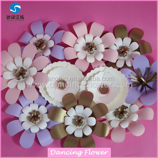 Bright Artificial Style and China Regional Paper flowers (OTAG-11)
