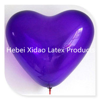 Manufacture Direct 12 inches standard color Latex Heart Balloon