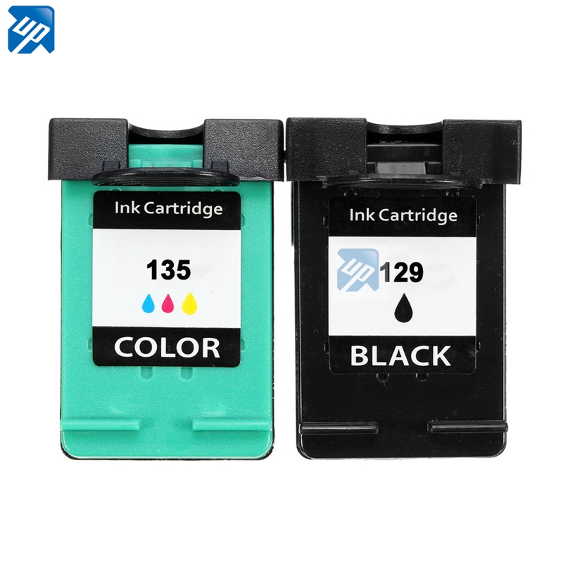 UP brand printer ink cartridge replacement for hp <strong>129</strong> 135 C4110 C4140 C4150 C4170 C4173 C4175 C4180 C4183 C4188 C4190 C4193