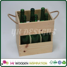 Insulated box wine carrier for Advertising