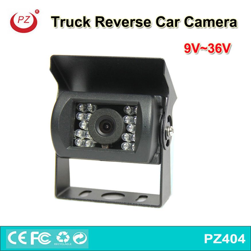 China Factory price waterproof 18pcs lights RCA Connector 12v 24V truck backup camera