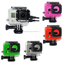 Skeleton Protective Housing with Lens for Go pro hero3+/3 Open Side for FPV