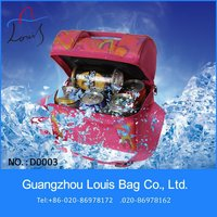 Guangzhou 2013 new design high quality beatifull insulated cooler bags