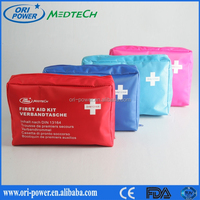 OP hot sale DIN13164 Germany CE FDA approved wholesale oem promotional travel auto vehicle emergency first aid bag