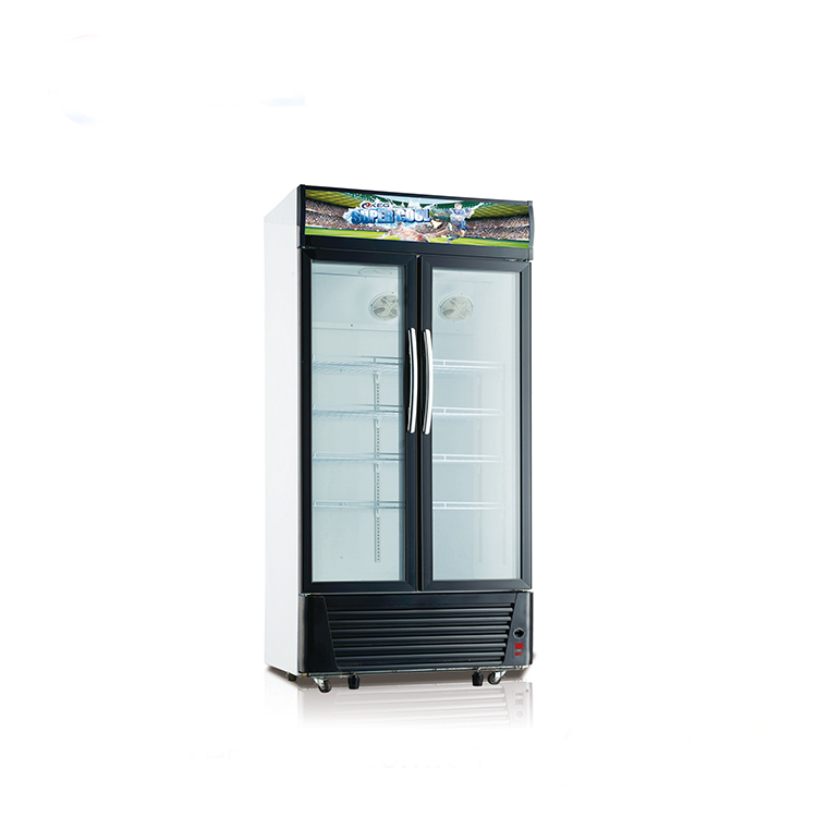 618l Commercial Glass Door Refrigerator Convenience Store Led Light