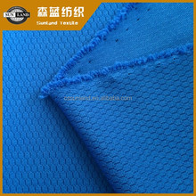 athletic sport knitting honeycomb polyester mesh fabric