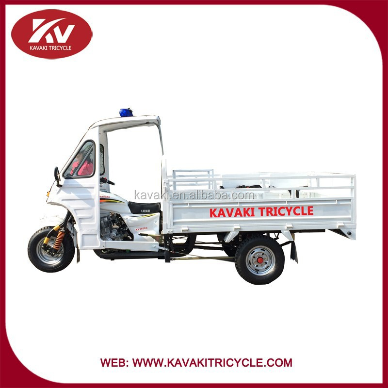 2015 China best quality cargo tricycle 3 wheels ambulance