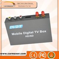Fashion car dvb-t box car portable mobile set top box digital tv cable receiver