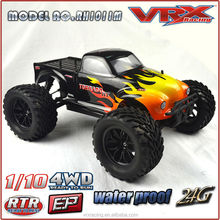 1/10 scale 4X4 Electric Monster RC Truck