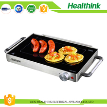 Low price beautiful design outdoor electric bbq glass grill kitchen