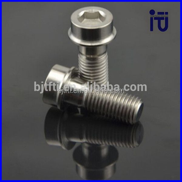 Good price gold titanium flange torx bolt m7 With After-sale Service