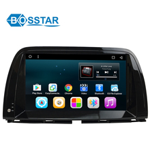 10 inch 2 din android car DVD GPS navigation multimedia stereo player for MAZDA CX - 5 with Bluetooth WiFi
