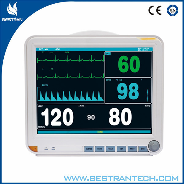 China supply BT-PM8D hospital multi-parameter mindray patient monitor 15 inch patient monitor with ECG