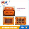 Plastic injection beer crate mould making