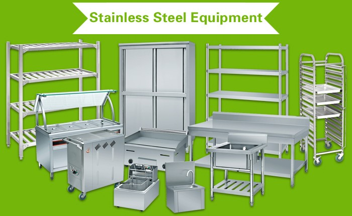 Kitchen Restaurant Equipment Stainless Steel Extraction Canopy With Mesh Filters (Range Hood)