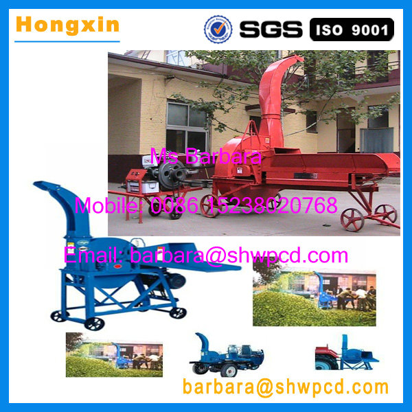 Diesel engine agricultural chaff cutter/grass chopper