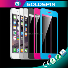 Trade ASSURANCE Supplier Mirror Colorful Glass Screen Protector for iPhone 6